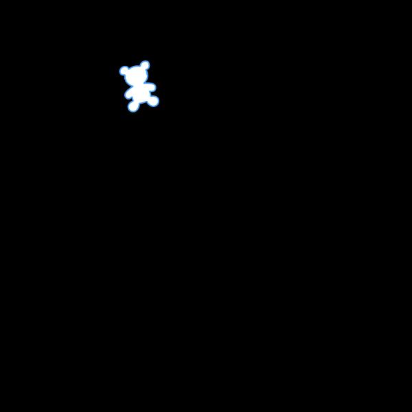 Bear Outline PNG Clip art