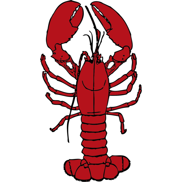 Red Lobster PNG Clip art