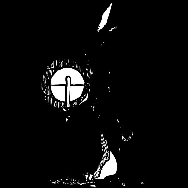 Rabbit Drummer PNG Clip art