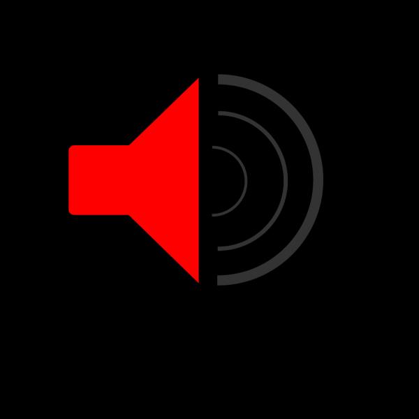 Speaker Black PNG Clip art