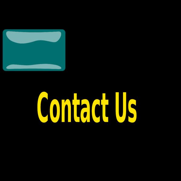 Teal Contact Us PNG Clip art