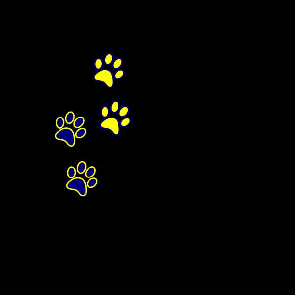 Black Paws PNG Clip art
