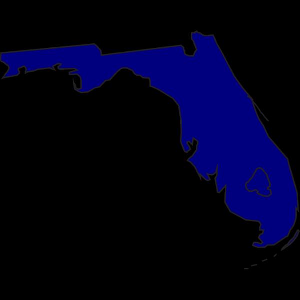 Blue Florida PNG Clip art