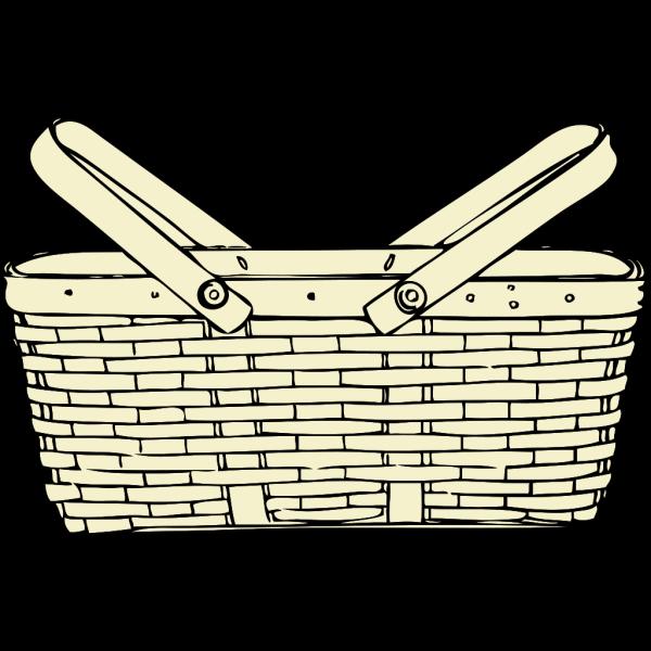 Picnic Basket PNG Clip art