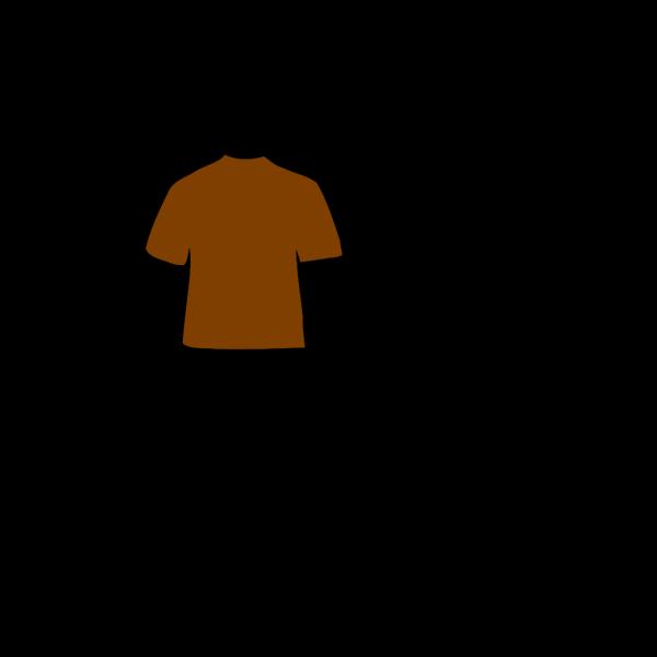 Brown Shirt PNG Clip art