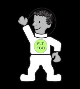 Eco Kid In  Spacesuit PNG Clip art