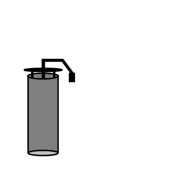 Nitrogen Tank PNG Clip art