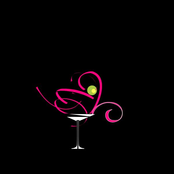 Martini Glass 1 PNG Clip art