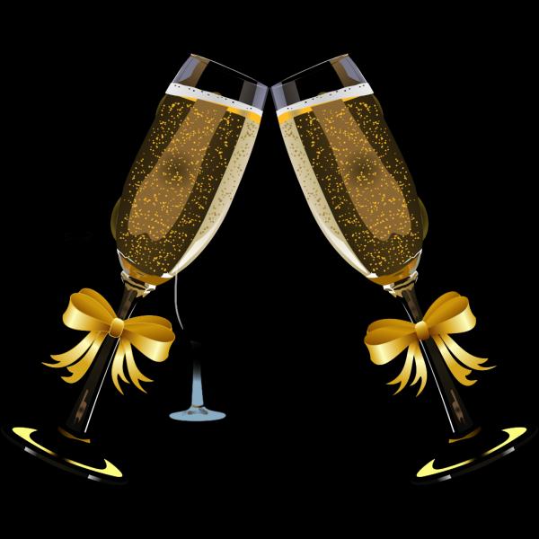 Champagne Bottle PNG images