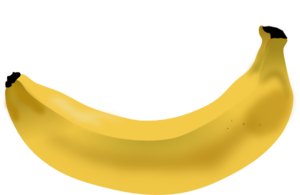 Banana Peel PNG icon