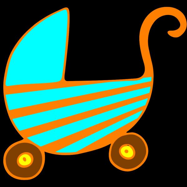 Baby Pram PNG Clip art