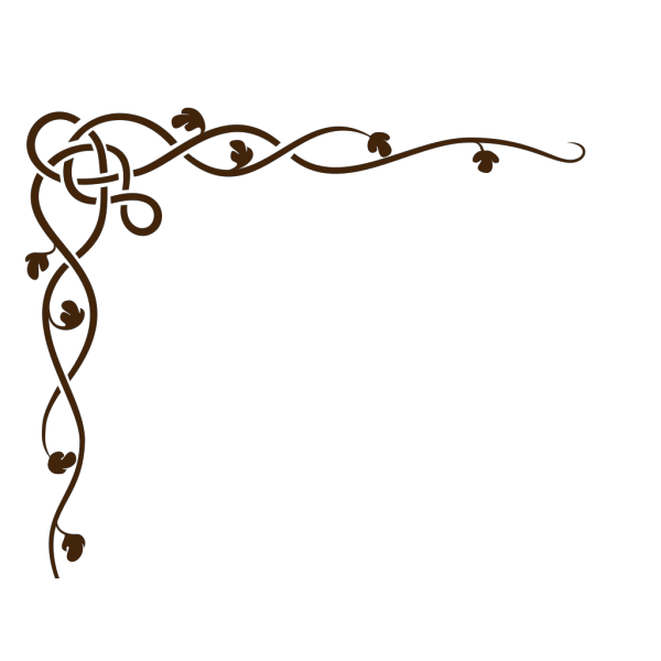 Border Swirl PNG Clip art