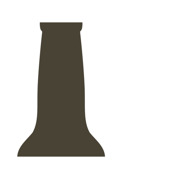 Beer Bottle Brown PNG images