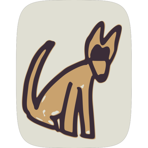 Brown Doggy PNG Clip art