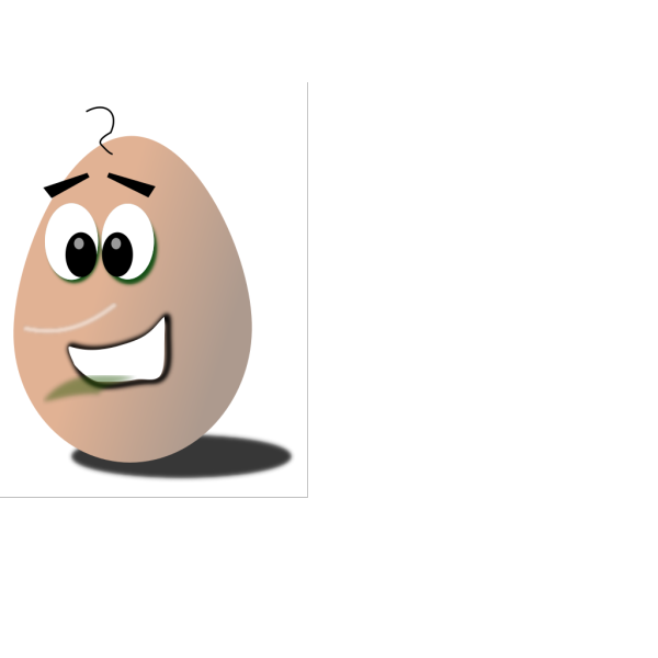 Happy Egg PNG Clip art