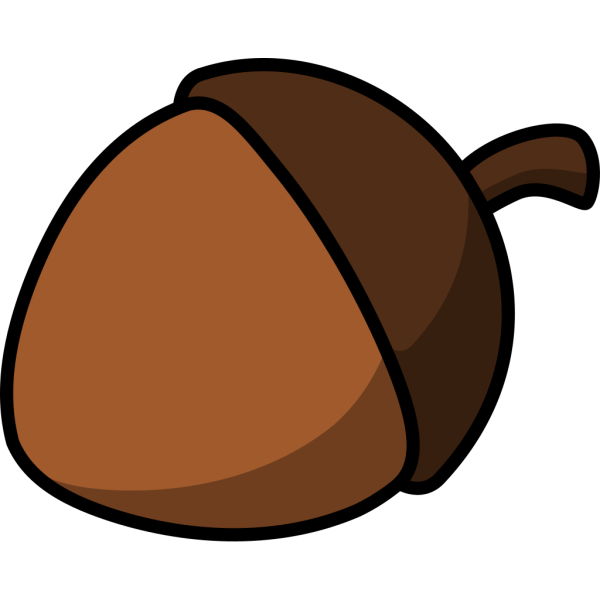 Cartoon Acorn PNG Clip art