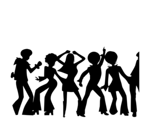Bw Disco PNG Clip art