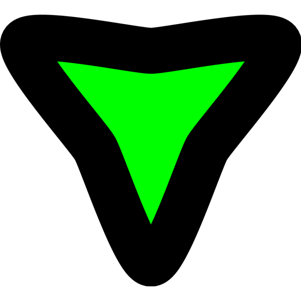 Disclosure Triangle Expanded PNG Clip art