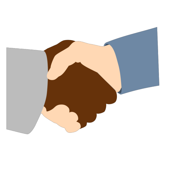 American Handshake PNG images