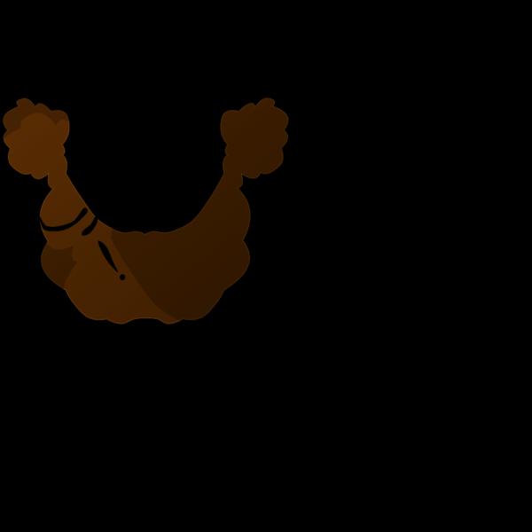 Plain Brown Beard PNG Clip art