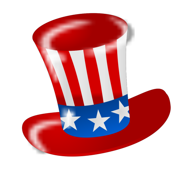 Uncle Sam American Hat PNG images