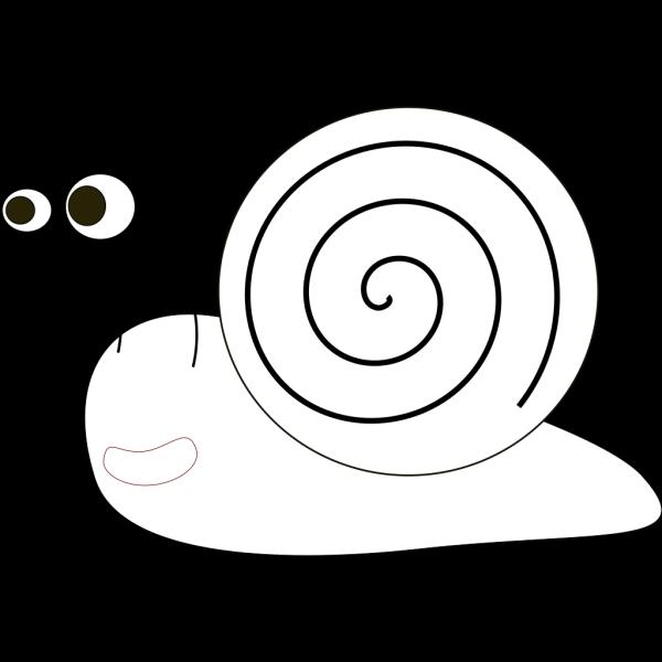 Snail Outline PNG Clip art