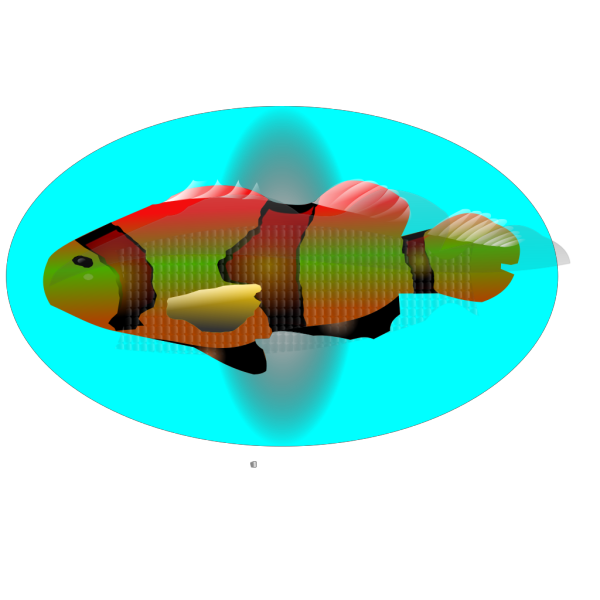 Fish In Water PNG Clip art