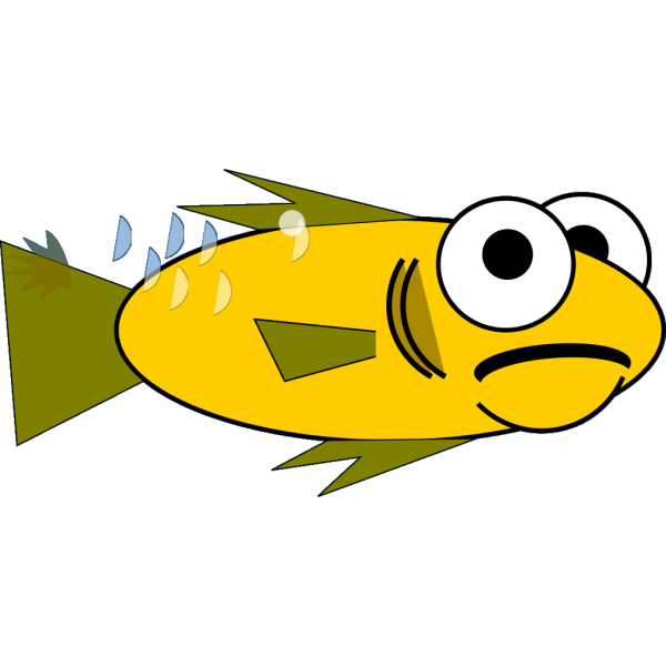 Goldfish Big Eyes PNG Clip art