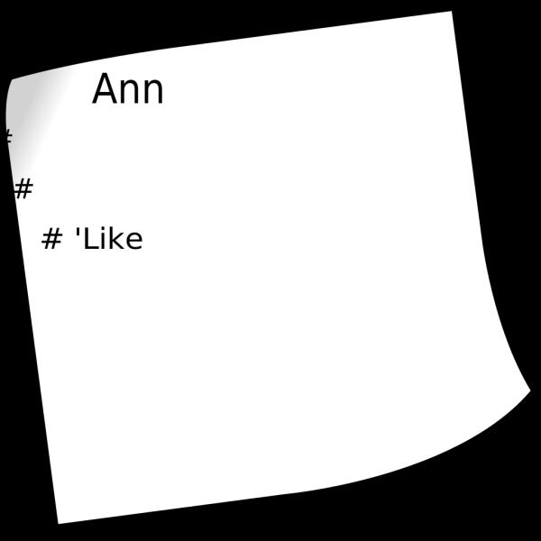 Announcements 1 PNG Clip art