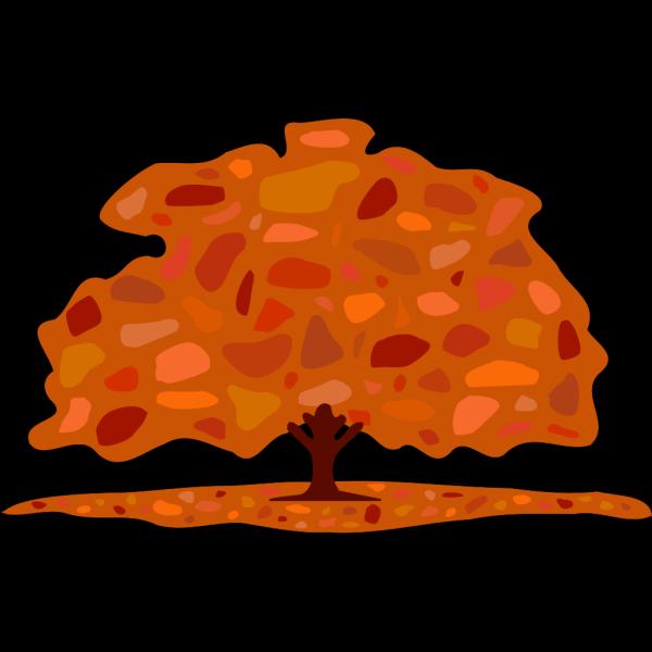 Autumn Tree PNG Clip art