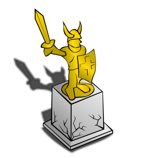 Cartoon Statue Sculpure PNG images