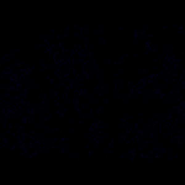 Brown Love Tree