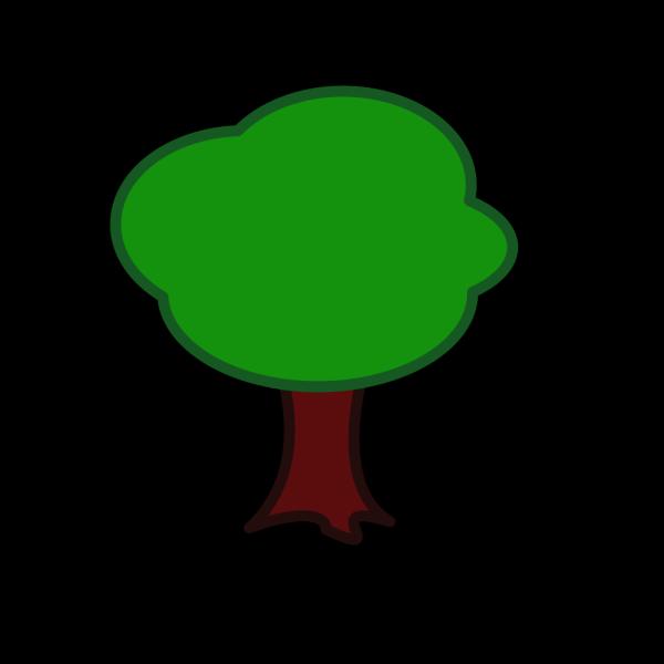 Light Brown Love Tree PNG Clip art