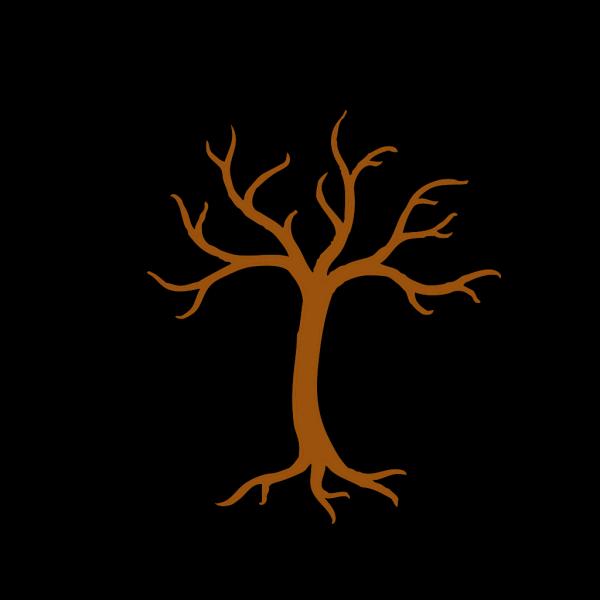 Light Brown Sunset Love Tree
