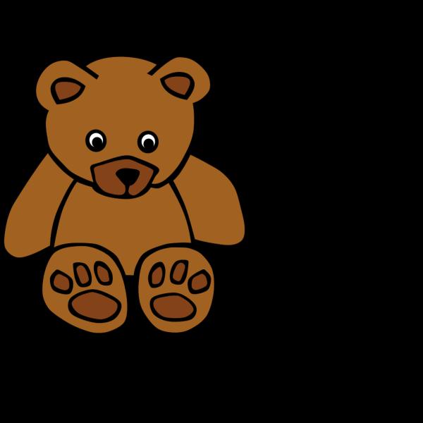 Baby Brown Bear PNG Clip art