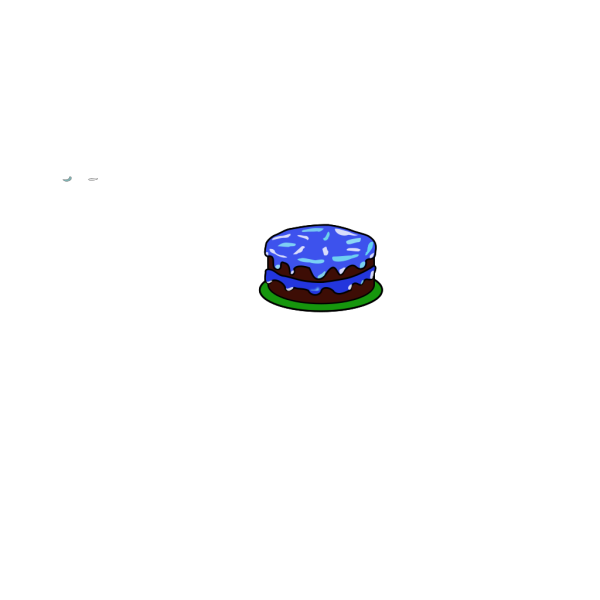 Cake With No Candle PNG Clip art