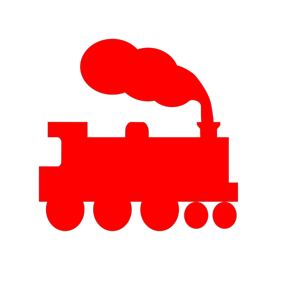 Train Silhouette PNG Clip art