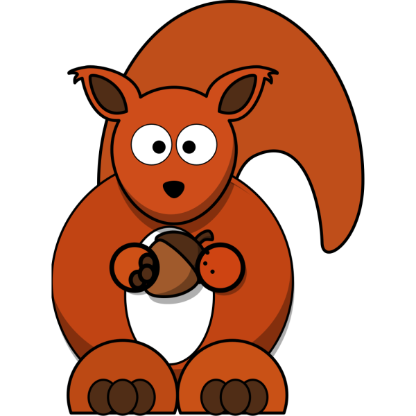 Red Squirrel PNG Clip art