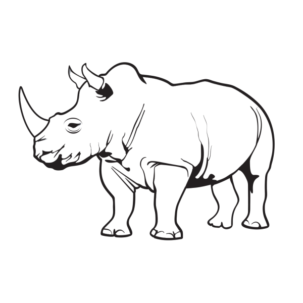 Rhinoceros PNG images
