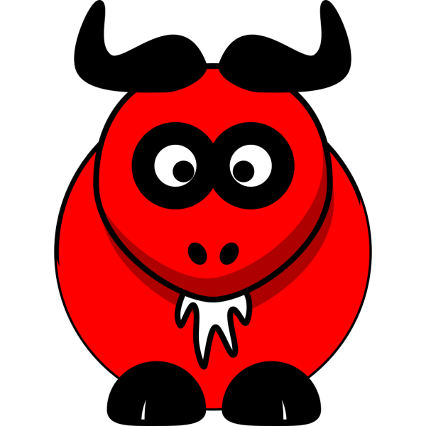 Red Ox PNG Clip art