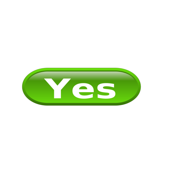 Green Yes PNG icon