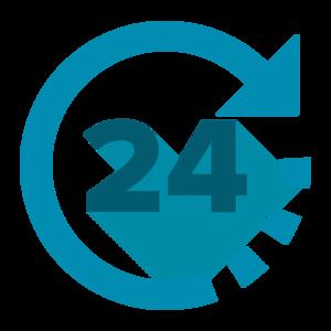 24 Hours PNG Transparent Image PNG Clip art