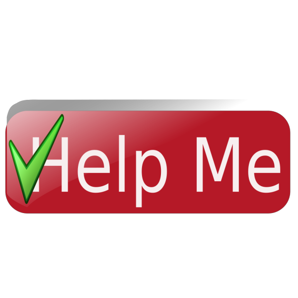 Help Me Button2 PNG images