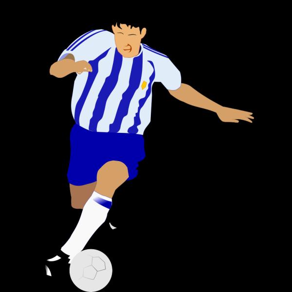 Soccer Play Dribbling PNG Clip art