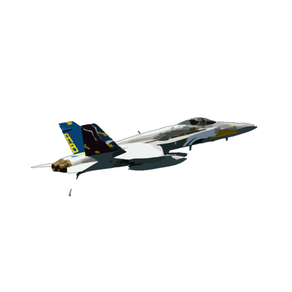 Vfa-82 Hornet In Flight Over Arabian Gulf. PNG Clip art