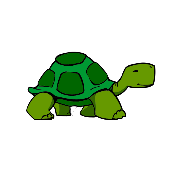 Green Turtle Fixed PNG Clip art