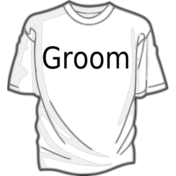Groom Shirt PNG Clip art