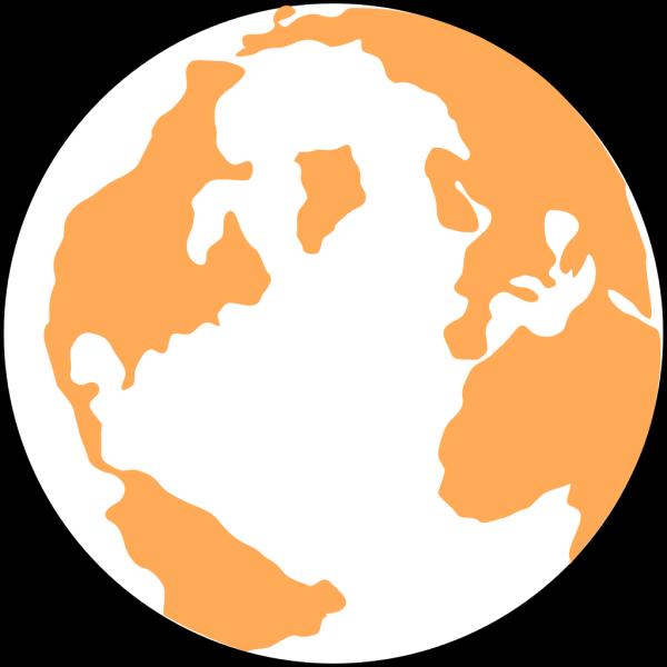 Orange And Blue Globeju++p+p PNG Clip art
