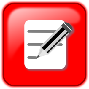 Writing Button PNG Clip art