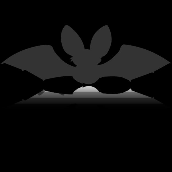 Bat Silhouette PNG Clip art